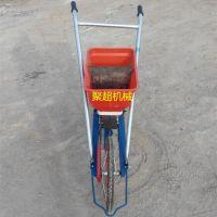 手提式施肥播种机 手扶双行玉米播种机 大蒜喷药优质谷子播种机