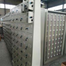 平板电脑充电柜价格 28门钢制储物柜小零件柜多少钱 终身提供配件