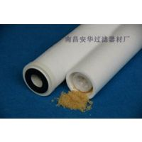 PP软化水树脂滤芯  清洗设备过滤芯