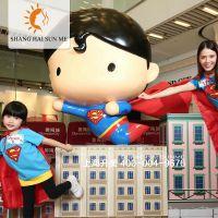 玻璃钢雕塑Q版英雄联盟超人蝙蝠侠绿箭侠卡通树脂模型雕塑商场摆饰展览定做