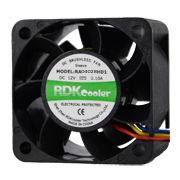 生产厂家 直流风扇 4028双滚珠含油散热风扇RDKcooler品质保证
