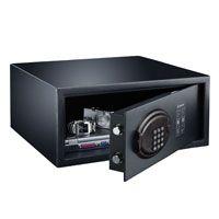 酒店客房多美达保险箱MD450X自动锁门 电子密码保险柜