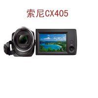 索尼摄像机批发CX405 高清家用摄像机数码摄像机 行货 翻转屏