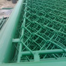 旺来包塑勾花护栏网 手工活勾花 菱形钢丝网