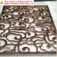 中式风格不锈钢屏风厂家直销 茶楼古色古香不锈钢屏风