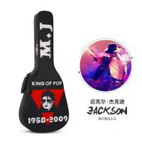 41寸 彩绘吉他包 6款可选 彩绘动漫画卡通加厚海绵电吉他包 琴包 民谣木吉他包 厂家直销