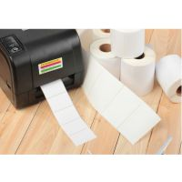 现货供应20*5mm空白标签纸|条码纸|铜板不干胶|4排