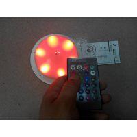 发光家居LED电子机芯 24键遥控、1KEY按键RGB调光 6珠5050深圳