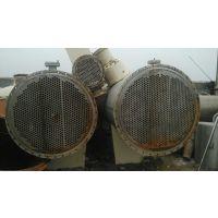长期转让二手传热设备,306材质不锈钢冷凝器,型号全