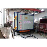 厂家优惠供应兴强牌1400℃5立方高效节能燃气梭式窑