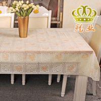 包邮印花欧式软玻璃桌布透明台布桌垫PVC防水免洗餐桌布方桌巾