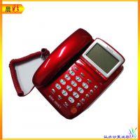 堡狮龙HCD133(19)TSD电话机 商务办公话机 银色 可乐红色可选