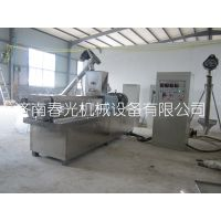 500kg/h蒸汽式水产饲料膨化机、水产饲料膨化设备、饲料膨化机械