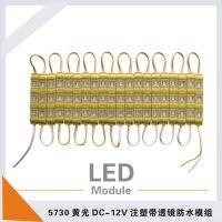 厂家直销 伏欧尔 黄光 5730SMD LED注塑模组