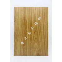 【热转印厂家】热转印红花梨不锈钢板 201不锈钢红酸枝木纹板 不锈钢红榆木纹转印板