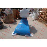 企业形象玻璃钢雕塑定做 开业景观装饰卡通雕塑直销