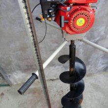大直径打眼机 佳鑫四轮带动挖坑机 双人植树钻坑机