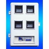 玻璃钢 单相4户电表箱   防窃电 机械/电子