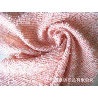 供应粗纺2015新款毛呢面料 花式纱编织呢 特种纱花呢