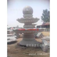 设计制作大中小型循环水喷泉 花岗岩石雕喷泉 风水球喷泉
