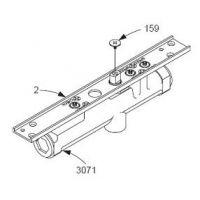原装进口UL防火认证LCN3133隐藏式闭门器代理商