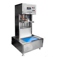 半自动食用油灌装机|济南食用油灌装机|青州鲁泰机械