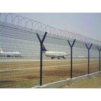 供应机场护栏网 刀片刺丝 机场隔离栅 利鸣厂家