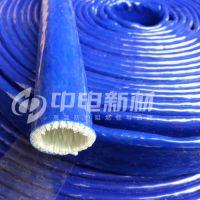 中电新材耐高温玻璃纤维绝缘套管 高压线缆防火管 钢厂专用 高温管道线路防护管