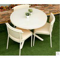 常州办公家具厂家直销创意桌椅组合圆桌 甜品店冷饮店奶茶茶店餐桌椅 简约咖啡桌椅新款