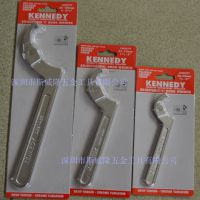 代理英国肯尼迪KENNEDY可调节钩形扳手KEN5829600K