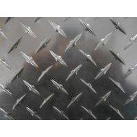 供应5056铝合金花纹板 1070铝防滑板 新疆1050A氧化铝板