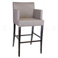 定做 酒店餐椅 休闲椅子 酒吧椅 实木橡木水曲柳椅子 餐厅