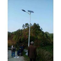 湖南益阳大通湖浩峰农村照明太阳能路灯价格