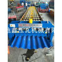 地鑫780大圆弧设备 彩钢压型设备冷弯型材成型机