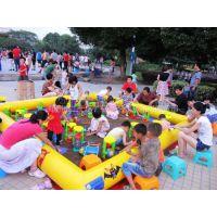 供应沙滩玩具,充气沙滩池,决明子沙滩充气沙滩 郑州广源游乐设备