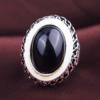 欧美复古树脂宝石戒指 复古时光指环 速卖通卖 ***赚钱的饰品
