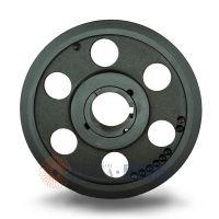 水泵皮带盘采购spa150-01选无锡帛扬锥套皮带轮厂家