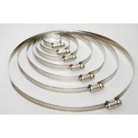 厂家供应不锈钢扎带式喉箍 德式美式喉箍 规格齐全 质优价廉
