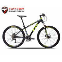 骓特山地自行车TW3900XC铝合金山地车可锁肩控前叉禧玛诺27速自行车厂家