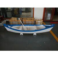 两头尖装饰船 欧式风格道具装饰木船