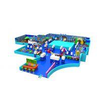 儿童乐园闯关项目 波波球游乐设备电玩 淘气堡海洋系列 海洋之星乐园 pvc木质软包海洋球