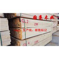 长沙岳阳建筑木方铁杉花旗松辐射松工程板方批发