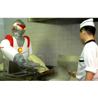 奥特曼刀削面机器人_刀削面机器人价格_机器人刀削面机报价 任县泰兴机械