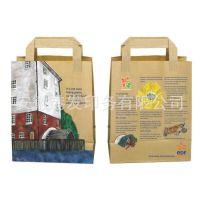 手提纸袋供应,120克白牛皮,黄牛皮,全自动机器制造,厂家直销