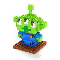 LOZ益智拼插积木 小颗粒拼装积木 玩具总动员-三眼仔9129
