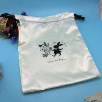 彩色香料绸布袋 色丁折叠包 色丁袋 拉绳束口 厂家专业加工定制