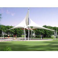 广西学校大门标志景观棚设计|(广西张拉膜供应)收费亭隔热雨棚制作