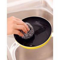 上海厂家直销镀锌网状清洁球高锌不掉丝耐用清洁去污能力强不伤手厨房去油去污好助手
