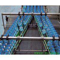 分流链板输送线 -分流输送机-灌装机-链板输送线 -斜坡皮带机-郑州水生机械