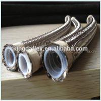 Stainless Steel Wire Braided High Pressure Teflon Hose SAE 100R14